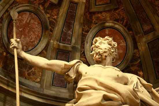 Longinus St Peters Basillica