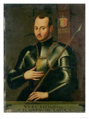 Saint Ignatius Loyola In Armour