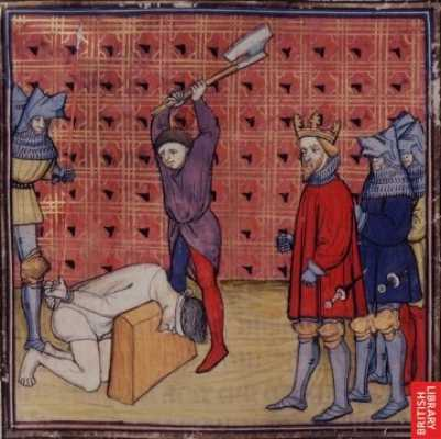 Jacquerie Beheading
