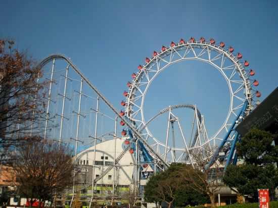 Thunder Dolphin-Big O Ferris Wheel-Hd