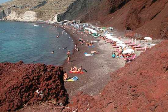 Greece Beaches Santorini