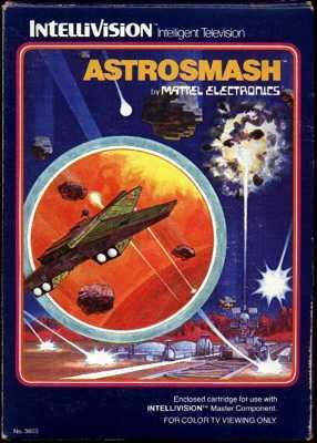 Intellivision Astrosmash Box