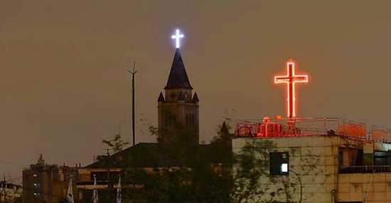 South-Korean-Church-Crosses