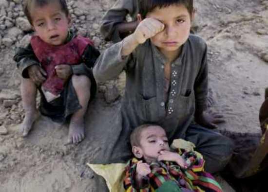 Afghan Children Starve31Dec09