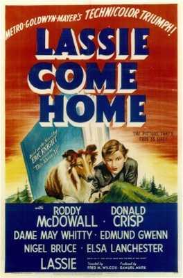 Lassie Come Home%2C Original Theatrical Poster