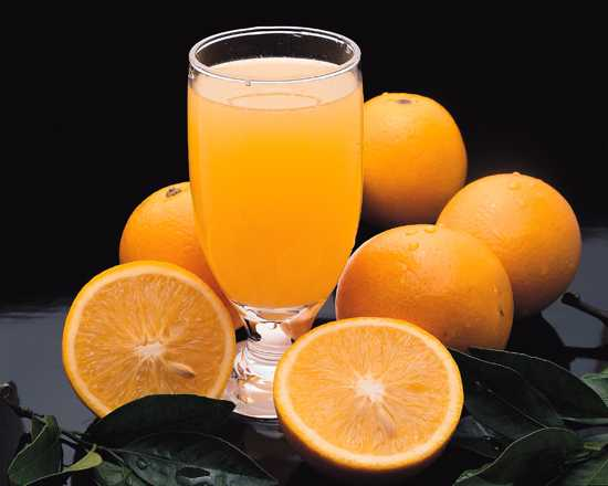 Nutritional Information Of Orange Juice