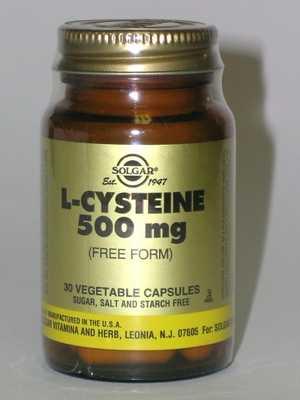 Solgar%20L-Cysteine%20500Mg%20(30)%20New