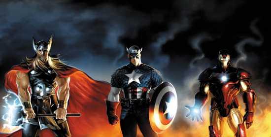 Avengers-Thor-Captain-America-Iron-Man