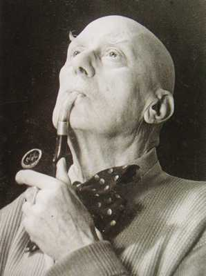 Aleister Crowley, Old And With Pipe