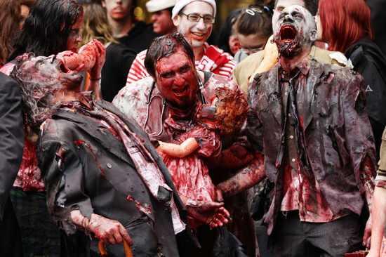Zombies+Walk+Streets+Sydney