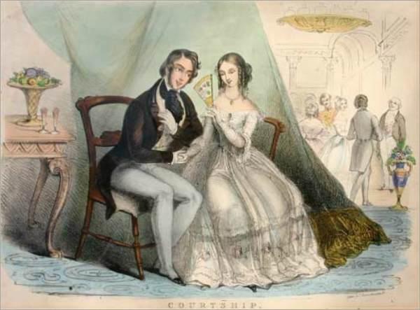 Victorian-Courtship