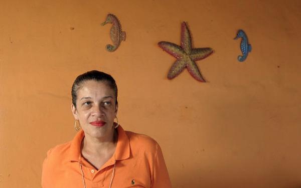 Woman Wearing Orange