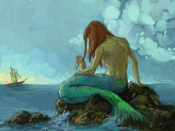 Mermaid 02 Original