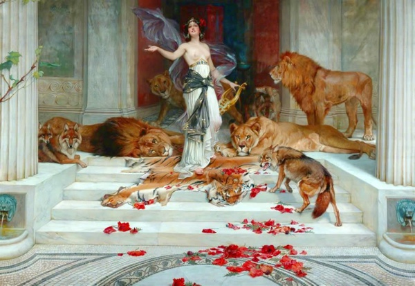 Circe By Wright Barker (1889)