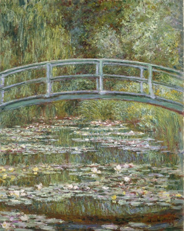 The Water-Lily Pond 1899 Claude Monet Metropolitan