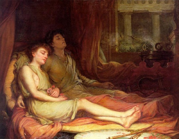 Waterhouse-Sleep And His Ha