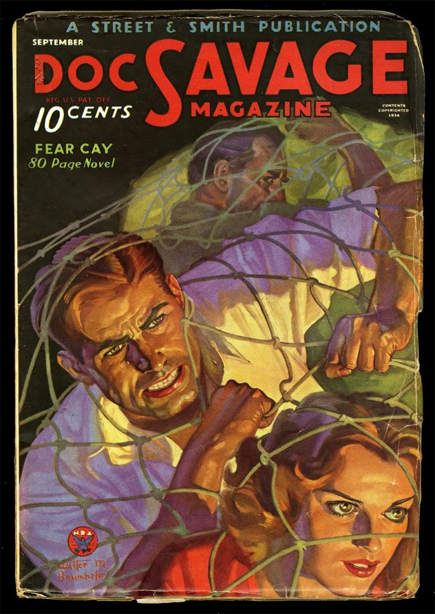 Doc Savage 1934.09 Cleaned Smaller