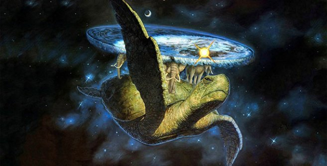 Image result for universe on a turtle