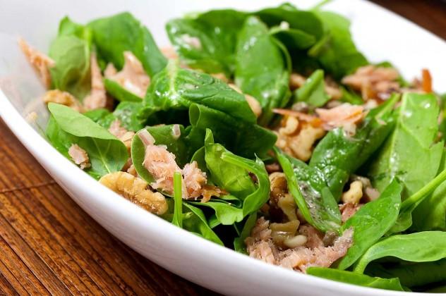 smoked-salmon-salad-caper-vinaigrette