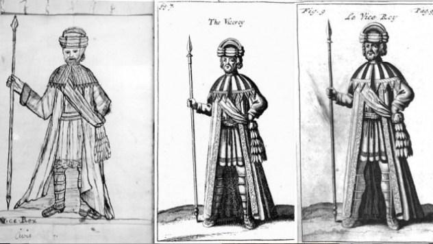 Psalmanazar paper - comparison of images