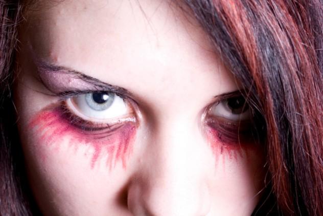 make-up of the vampire