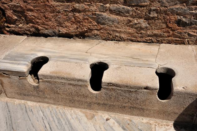 Public Toilets at Ephesus, Turkey
