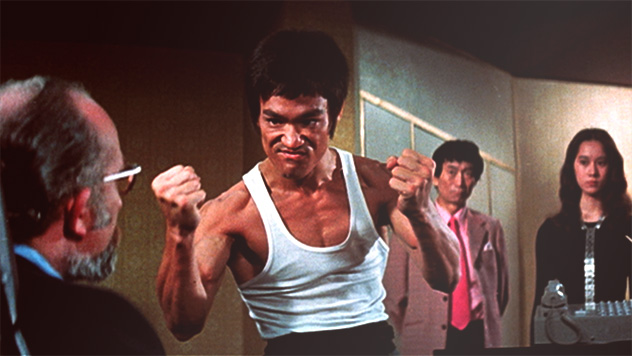 Anime bruce lee fists his big brother - 2 7