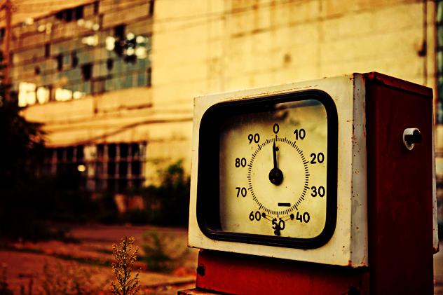 4- gas station
