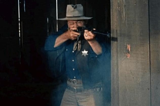 John Wayne Angry