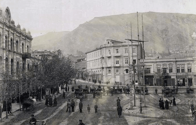 Tiflis Bank Robbery Area