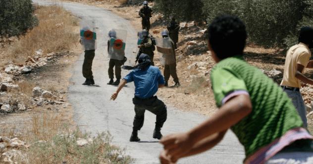 Throwing Rocks Israel Featured