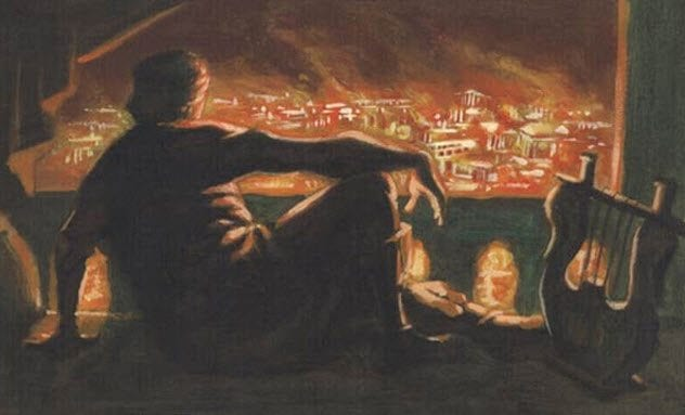 Historical Misconceptions 10-nero-rome-burns