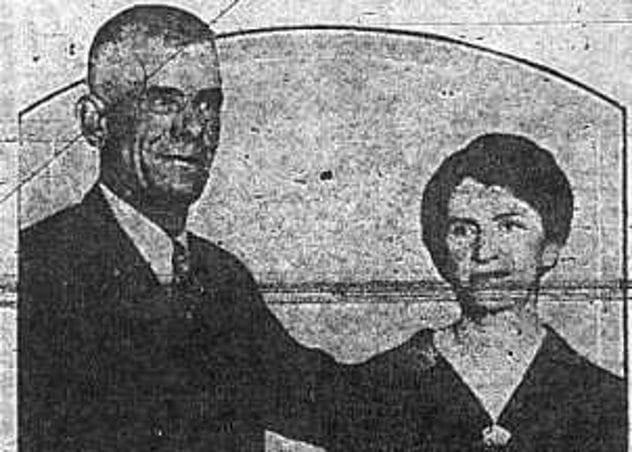 Edward and Ethel Beane