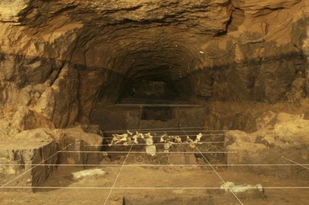 Teotihuacan Mercury Tunnel