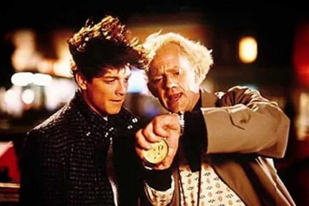 Back to the Future Eric Stoltz