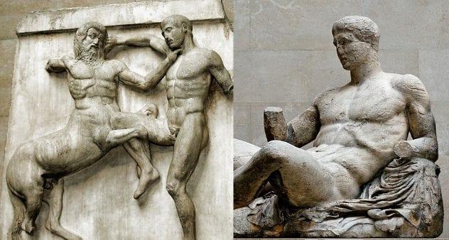 Dionysos_pediment_Parthenon_BM