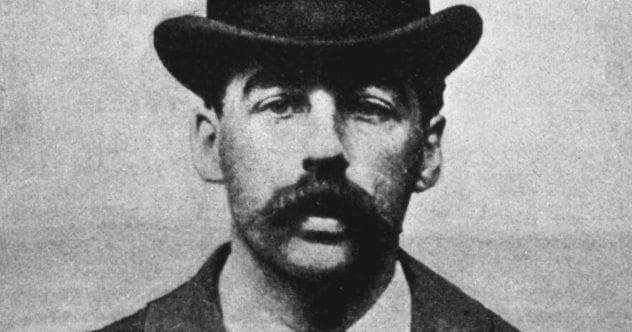 H.H. Holmes Mugshot Featured