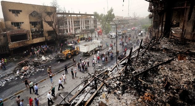 The-aftermath-of-the-bombing-that-hit-Karada-in-central-Baghdad-Iraq.