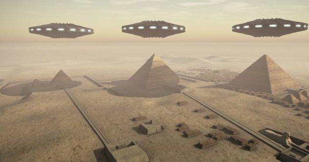 Hasil gambar untuk UFO egypt