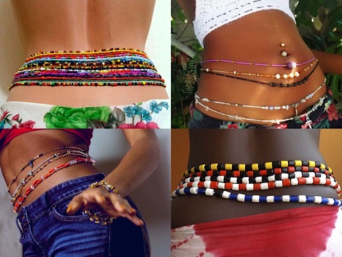 Significance And Uses Of The African Waist Beads