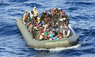 Illegal migrants from Nigeria