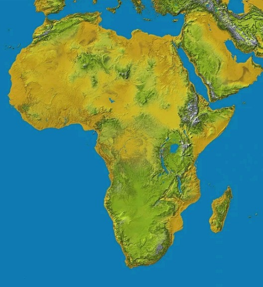 Top 10 Largest African Countries By Land Area