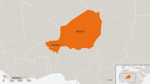 What are US soldiers doing in niger