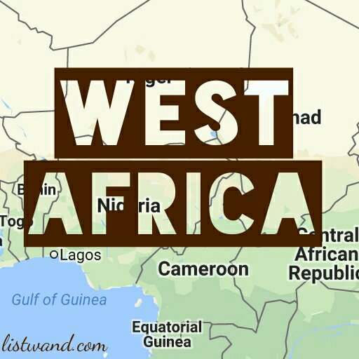 West Africa: The 16 West African Countries, Their Language And Population