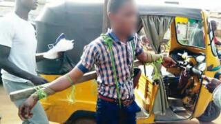 Nigerian Students Tied To Cross And Flogged For Being Late