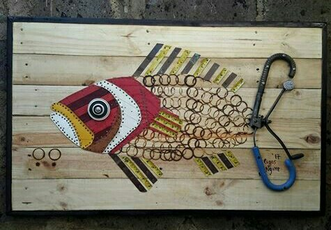 This Kenya Artist Turns Scrap Objects Into Amazing Works of Art