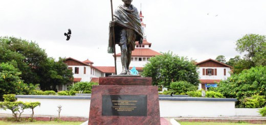 Ghana University remove statue of Mahatma Gandhi over racist claim