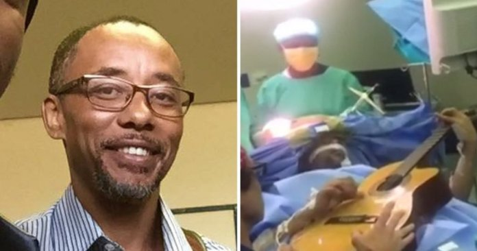 South African Musician Plays Guitar While Surgeons Operate on his Brain (Video)