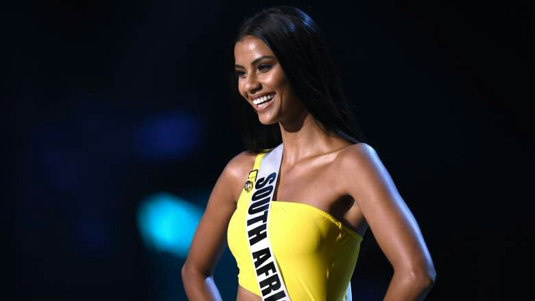 South africa Tamaryn Green crowned runner-up at Miss Universe pageant 2018