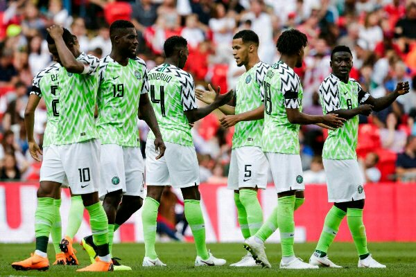 Nigeria's Super Eagles Now Third-Best Team in Africa